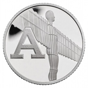 Angel of the North 10 Pence Coin