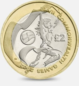 Commonwealth England £2 Coin