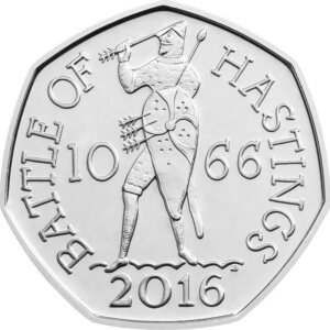 The Battle of Hastings 50p Coin