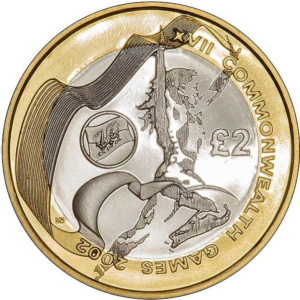 Commonwealth Wales £2 Coin