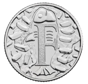 The Fish and Chips 10p Coin
