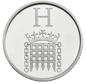 The Houses of Parliament 10p Coin