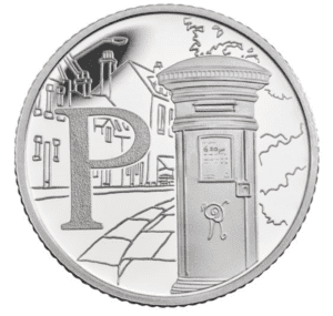The Post Box 10p Coin