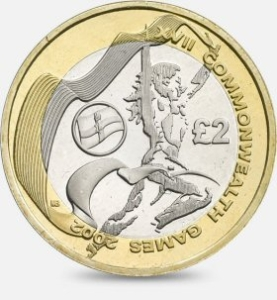Commonwealth Northern Ireland £2 Coin