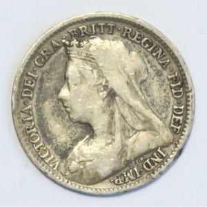 The 1895 Victoria Old Head Threepence