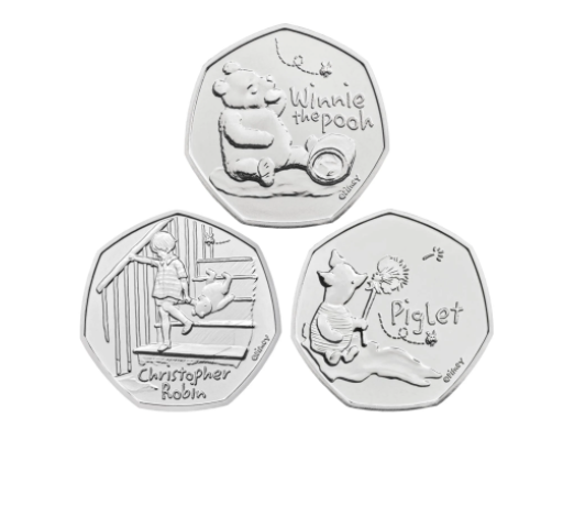 Winnie the Pooh 50p Coin Collection